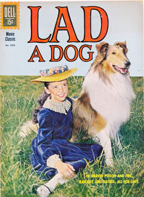Lad A Dog comic book